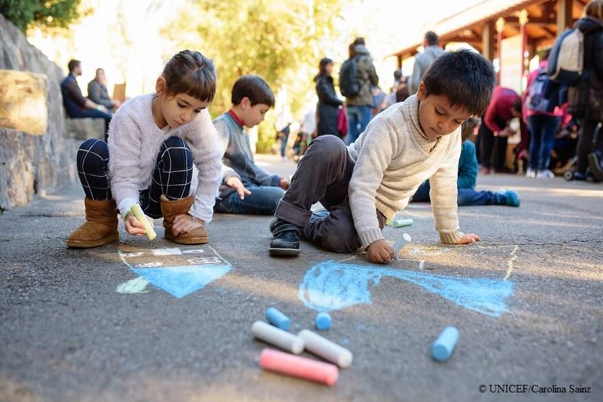 Niños en España