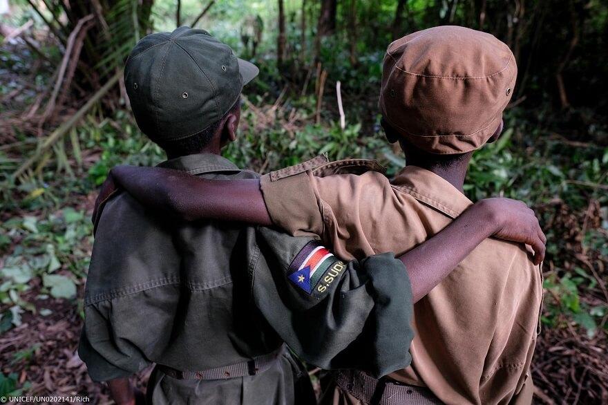 Sudán del Sur: más de 200 niños soldado, liberados ayer por grupos armados