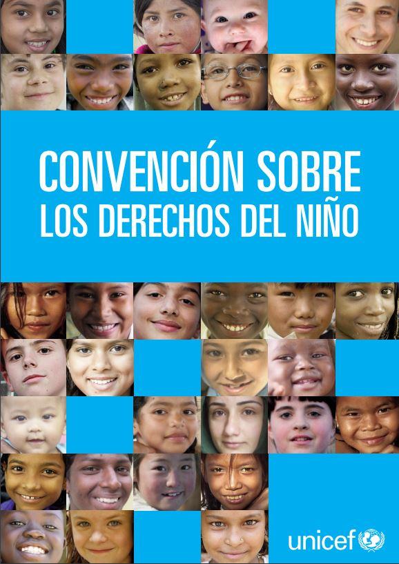 Portada de la Convención sobre los Derechos del Niño