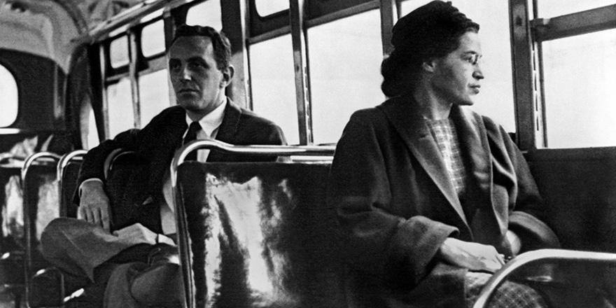 Rosa Parks: Un asiento reservado a los derechos humanos - © UP/Corbis/Bettman