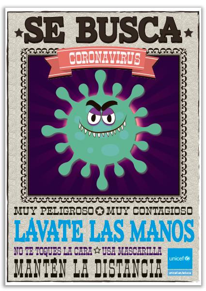 Se Busca Coronavirus Unicef