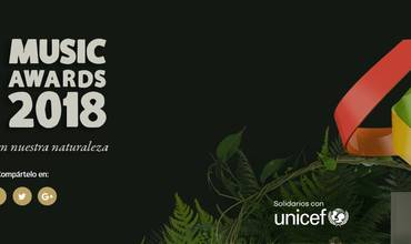 LOS40 Music Awards 2018, solidarios con UNICEF
