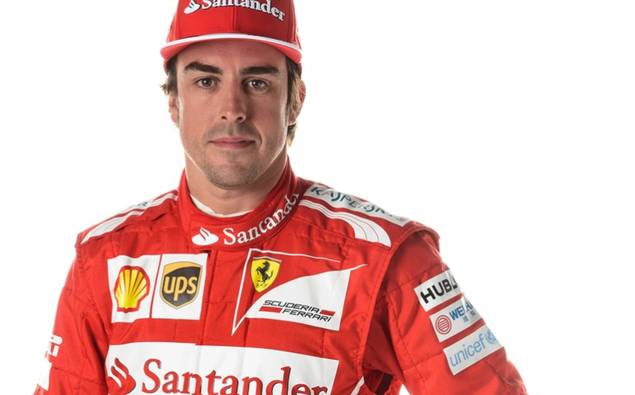 Fernando Alonso - Logotipo UNICEF