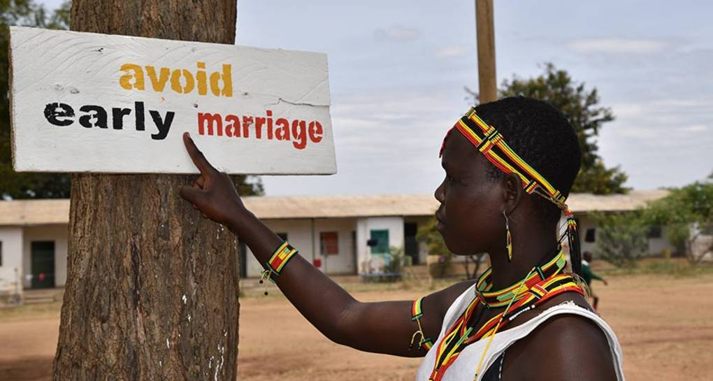 Prevención matrimonio infantil. UNICEF